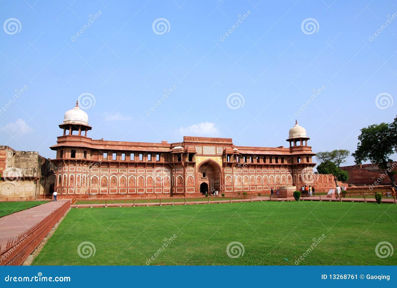 Agra architektury fortu ind