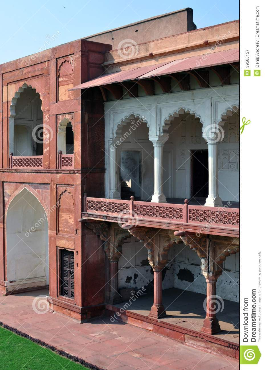 Agra fort.