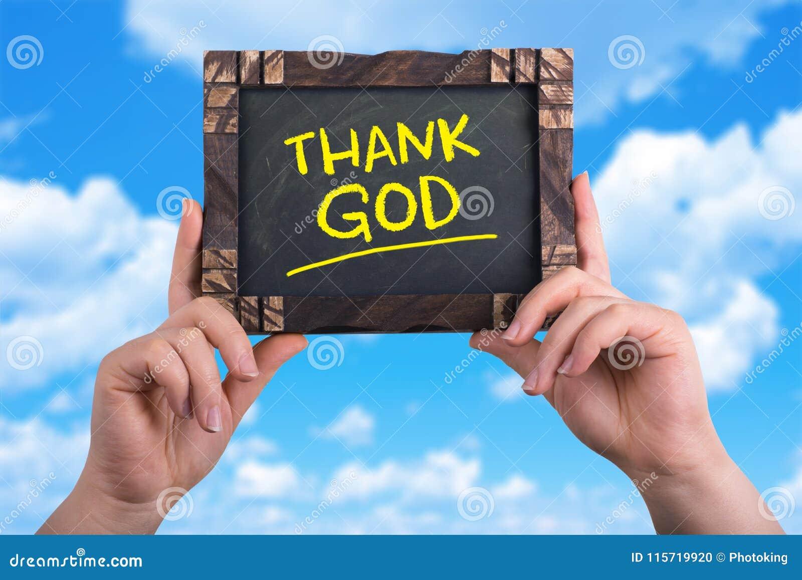 Agradeça ao deus