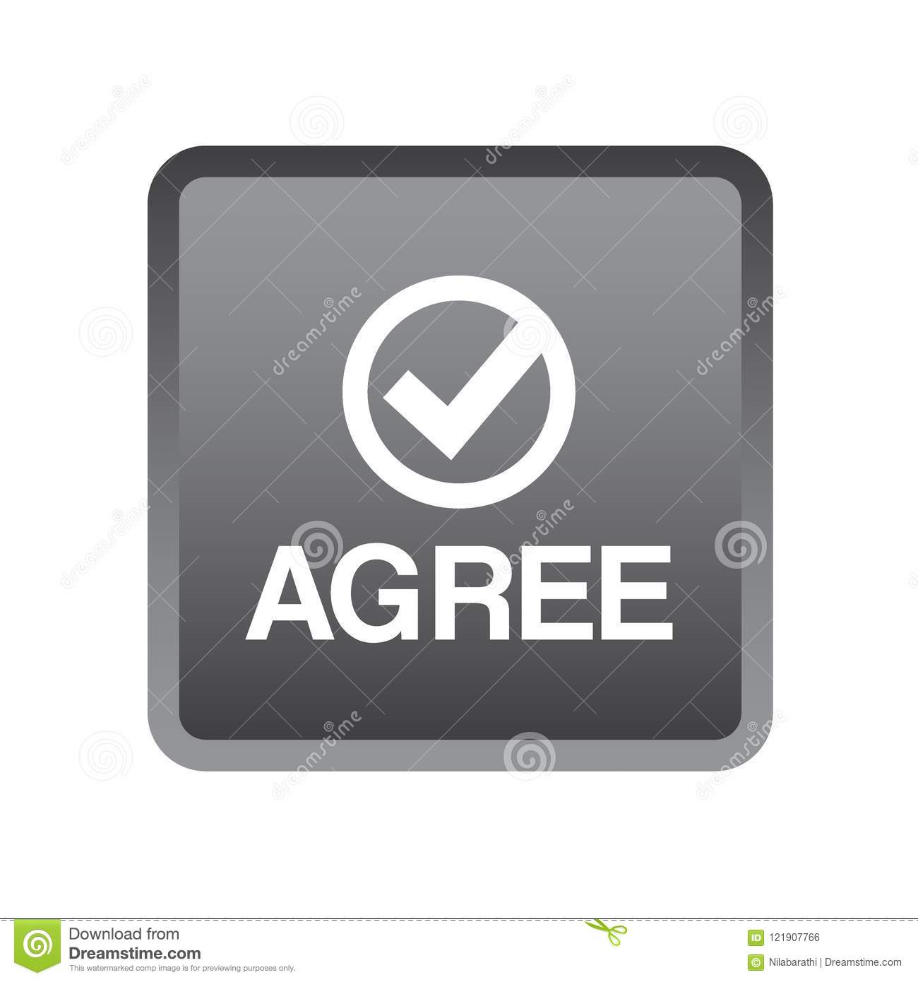 Agree / accept button