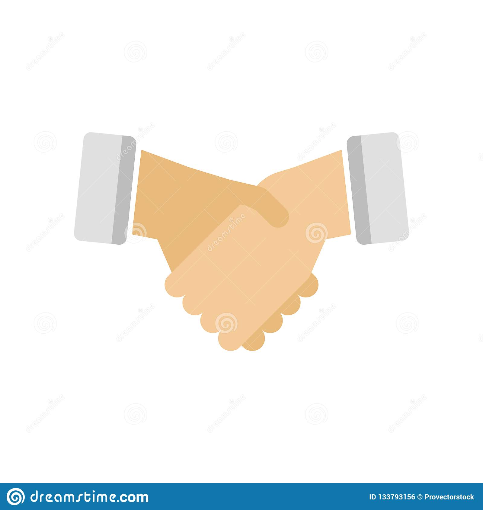 Agreement icon vector sign and symbol isolated on white background, Agreement logo concept