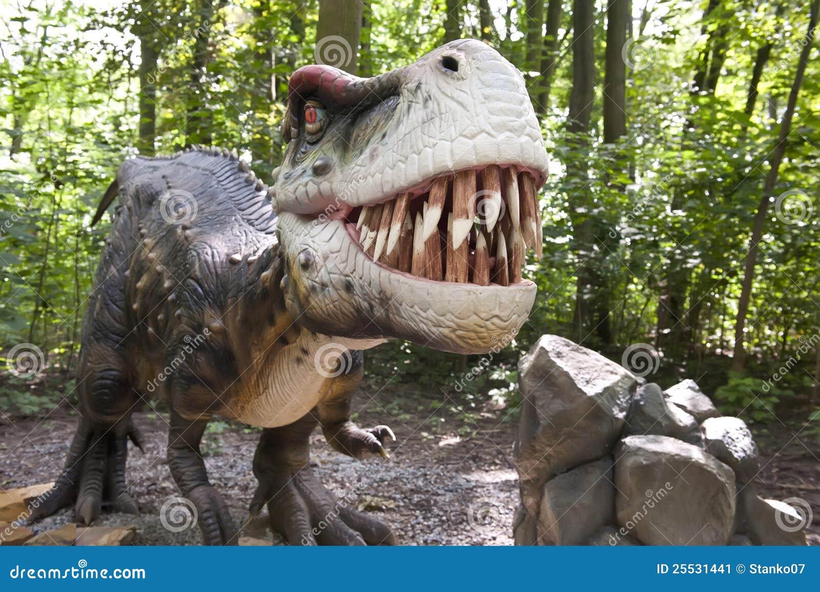 Agressieve dinosaurus