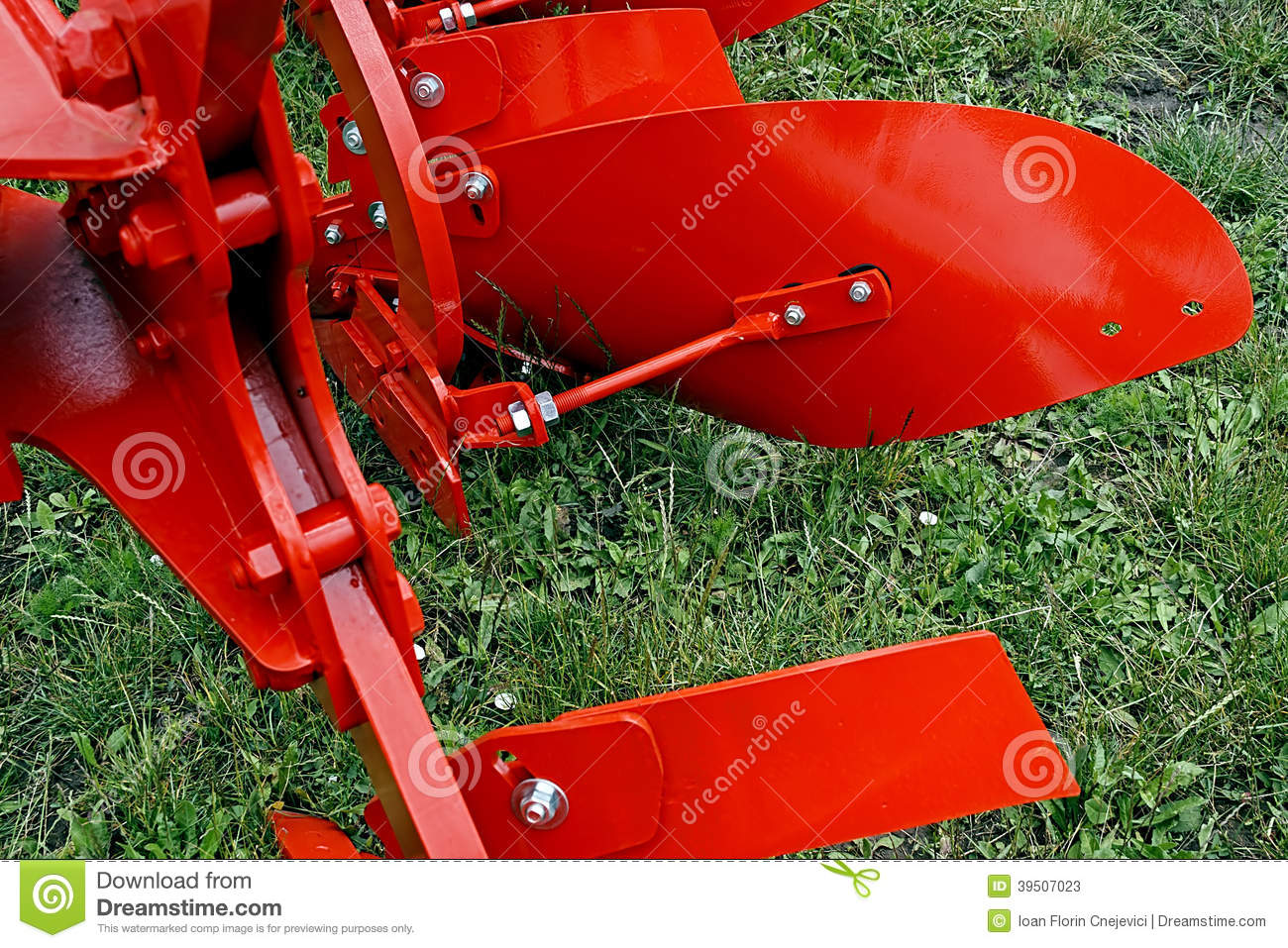 Agricultural equipment. Detail 134