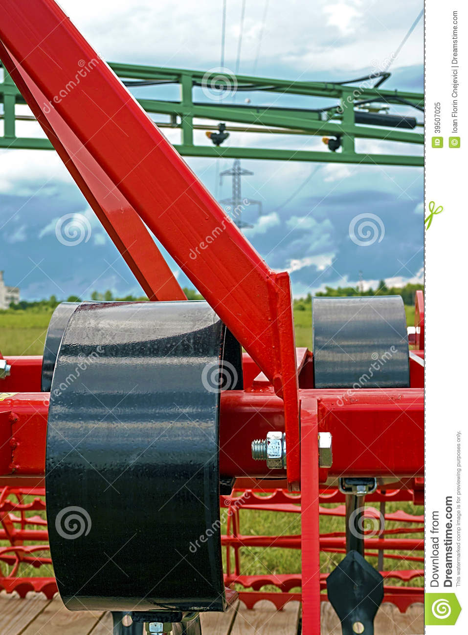 Agricultural equipment. Detail 143