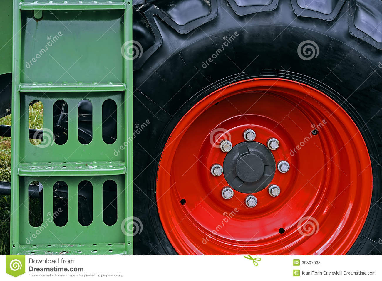 Agricultural equipment. Detail 162