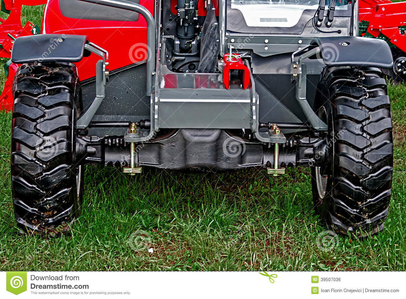 Agricultural equipment. Detail 158