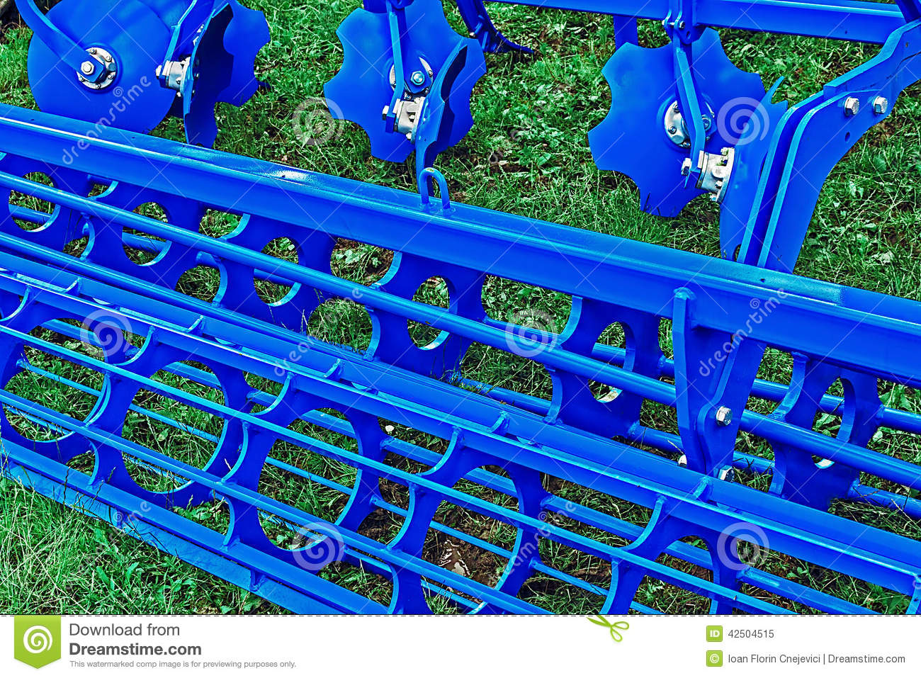 Agricultural equipment. Detail 182