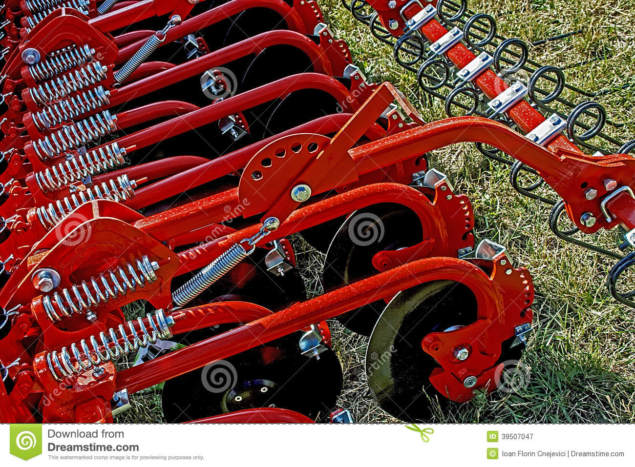 Agricultural equipment. Details 28