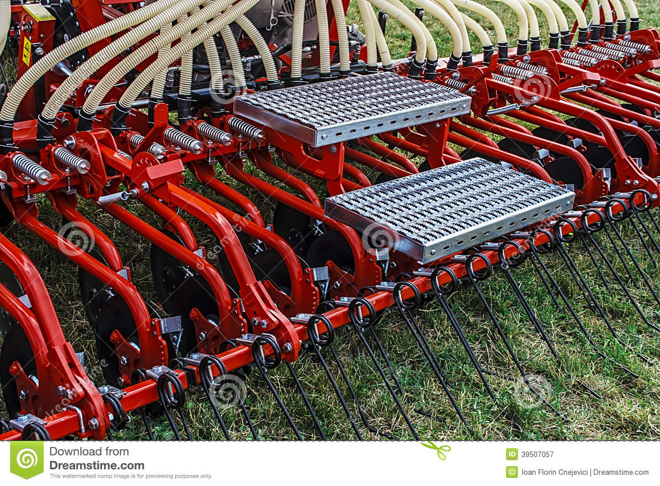 Agricultural equipment. Details 36