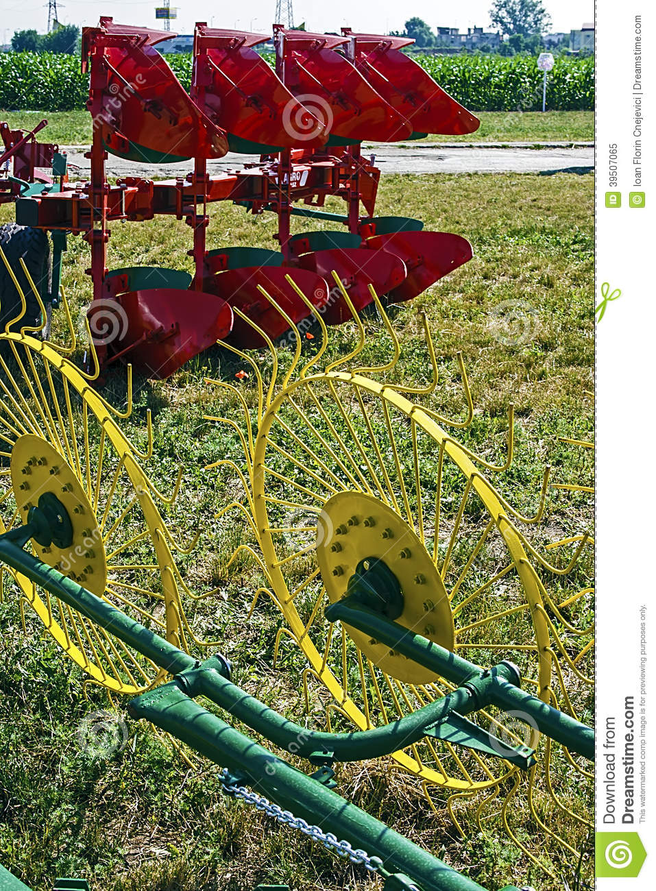 Agricultural equipment. Details 48