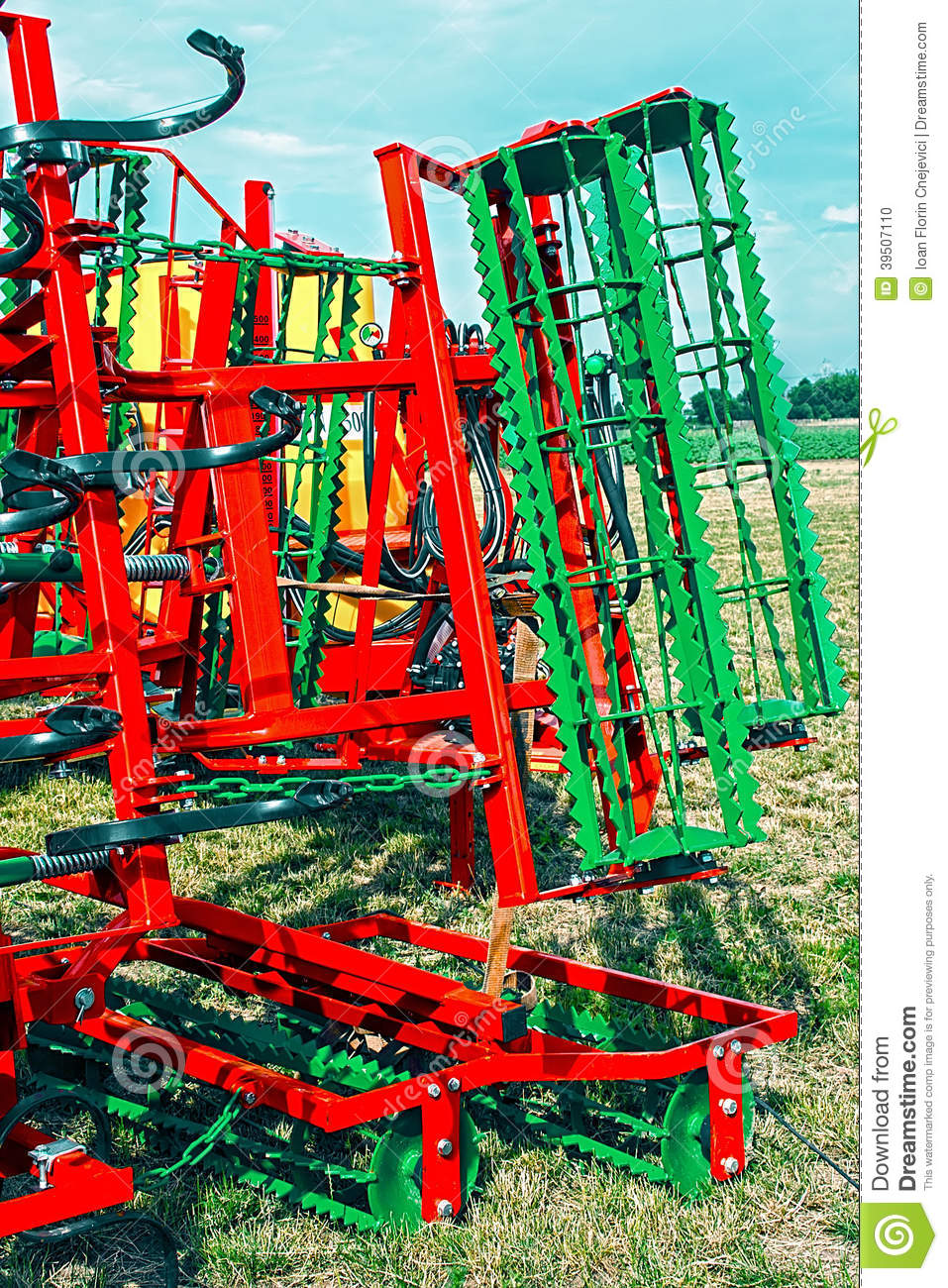 Agricultural equipment.Details 90