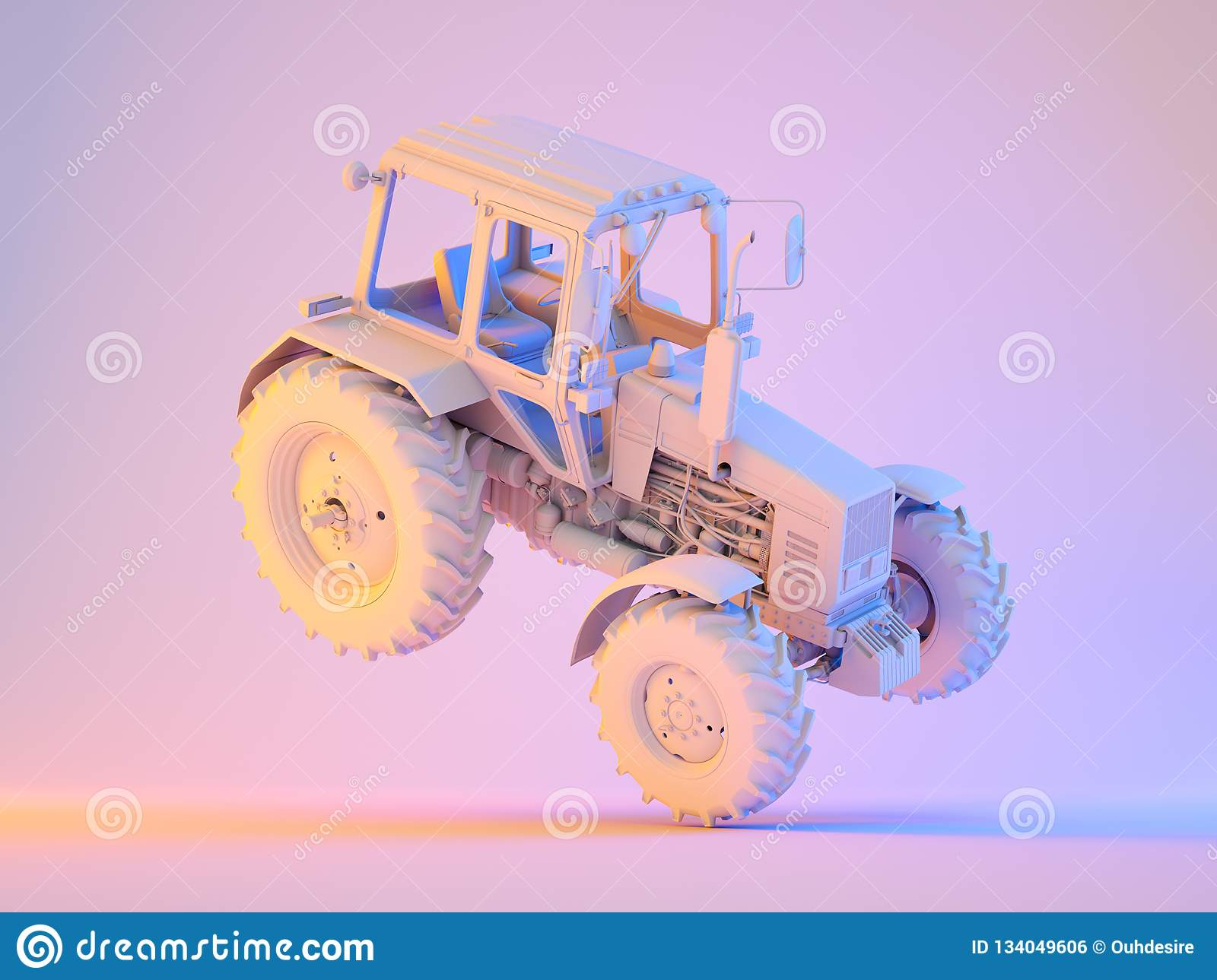 Agricultural generic tractor