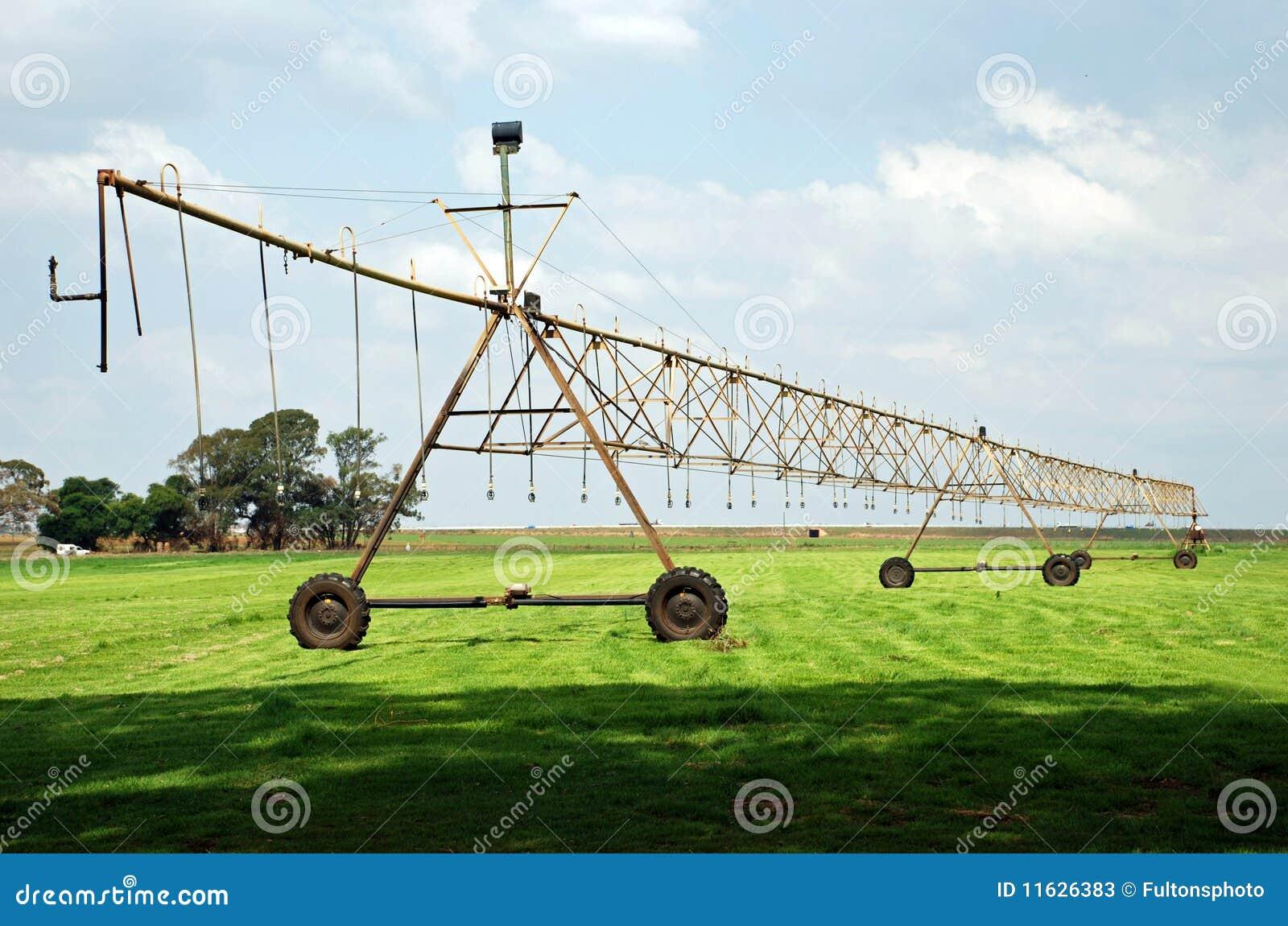 Agricultural Irrigation System Stock Image Image 11626383
