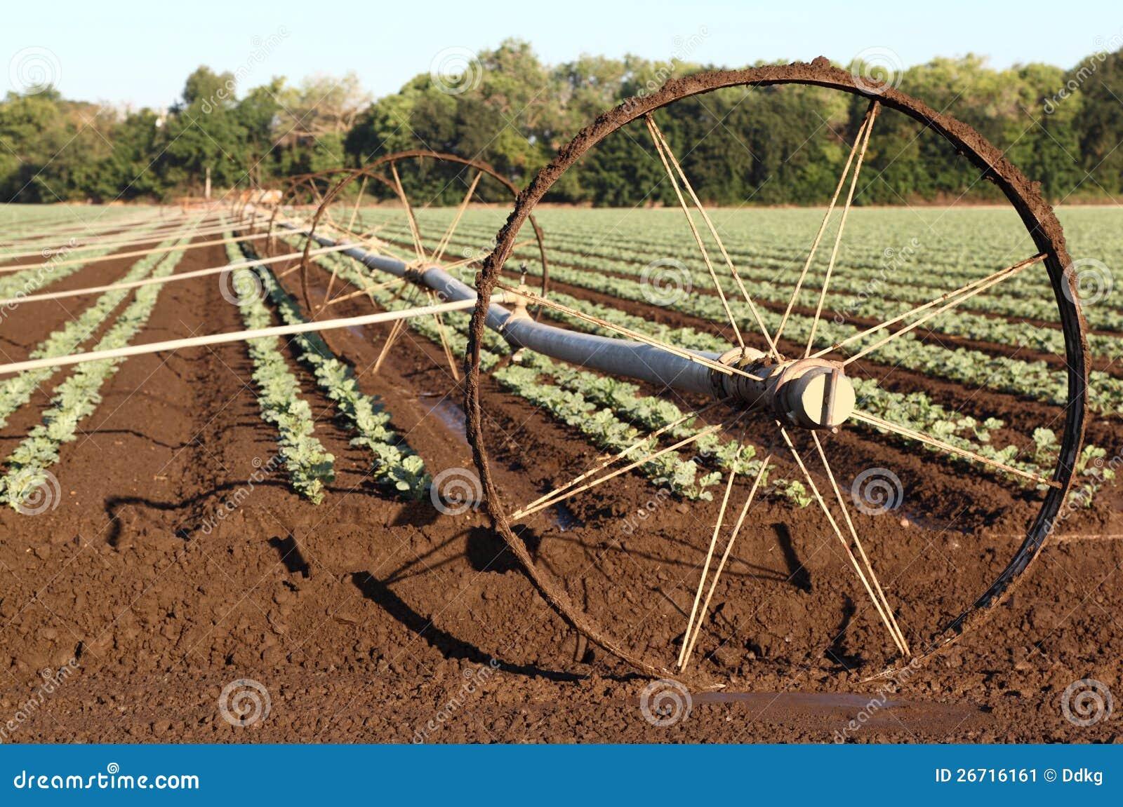 Agricultural Irrigation System Stock Image Image 26716161