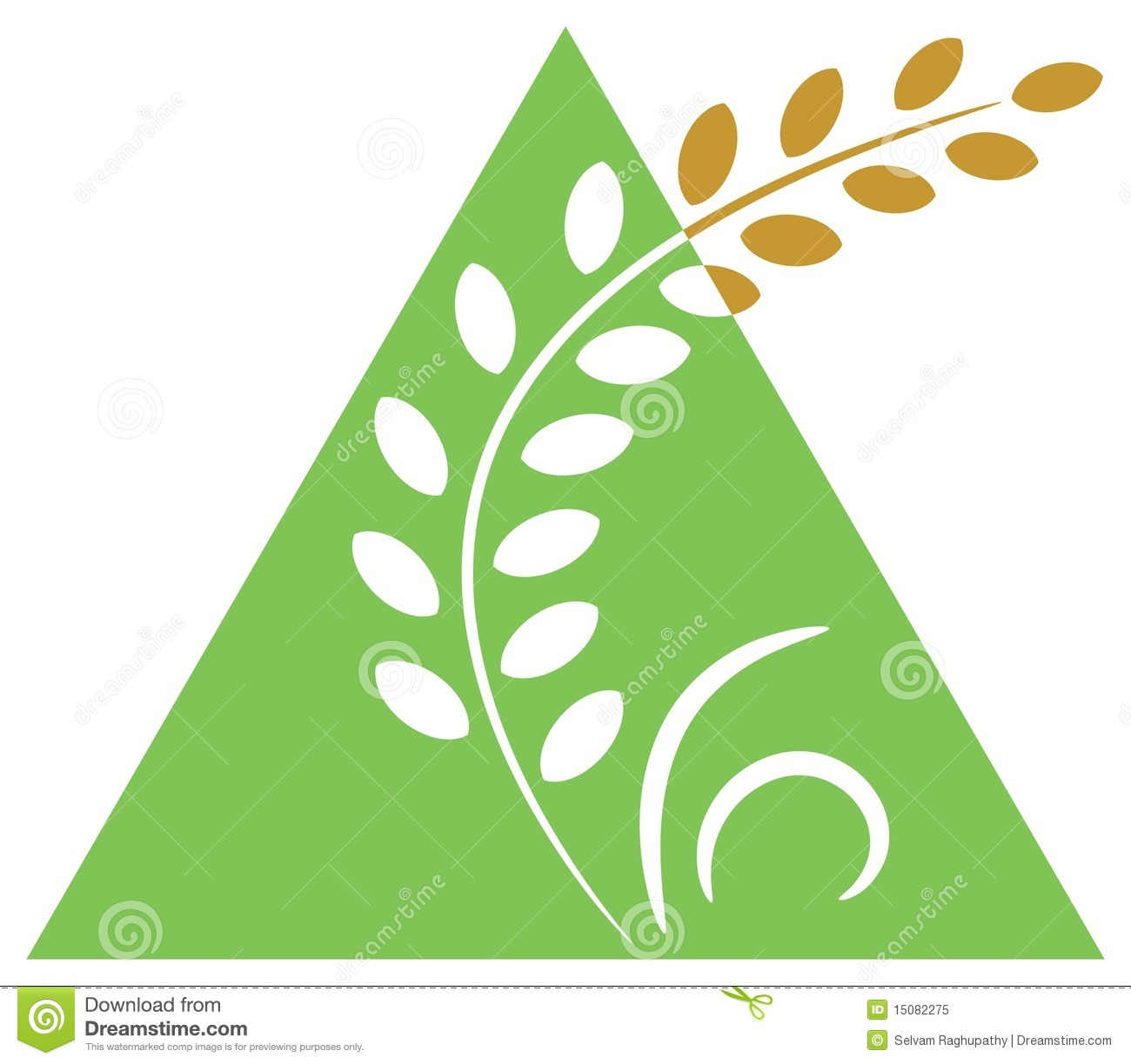Agriculture Clip Art : Agriculture logo stock vector illustration of mature