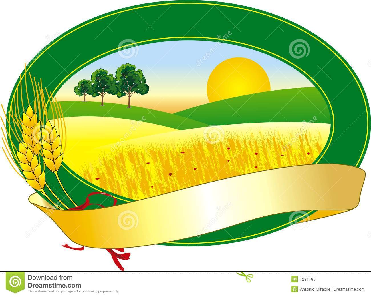 Agriculture Logo Royalty Free Stock Photo - Image: 7291785