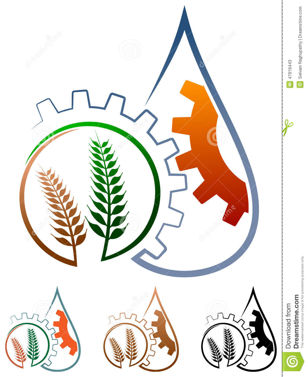 Agriculture Logo Stock Vector - Image: 47919443