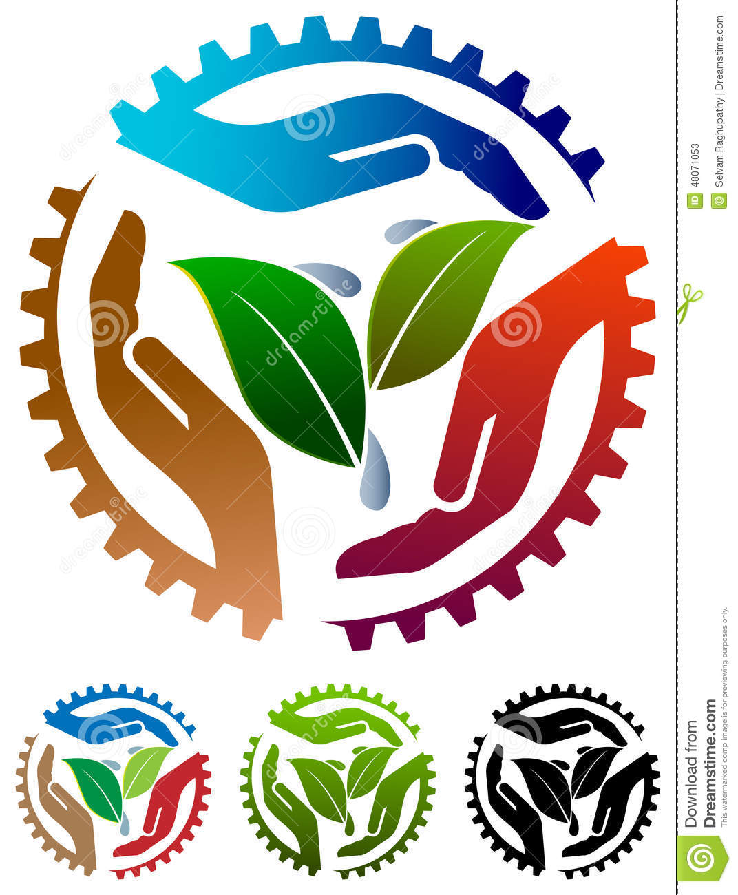 Agriculture Logo Stock Vector