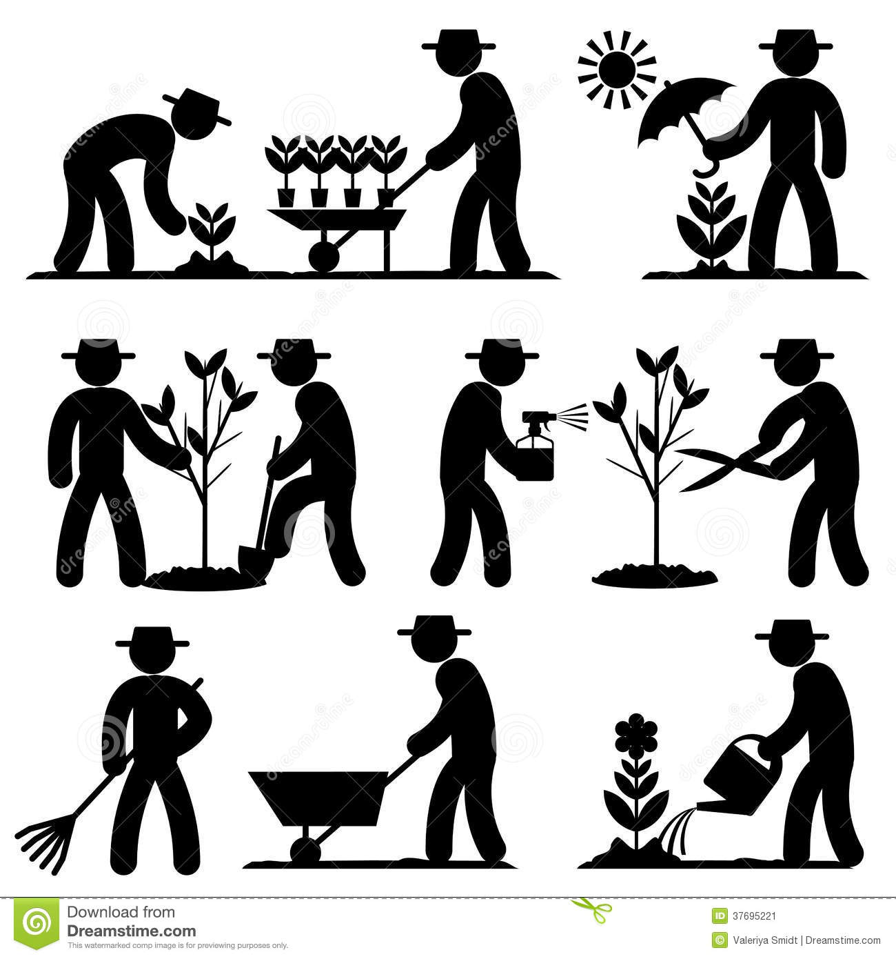 More similar stock images of ` Agro people icons `