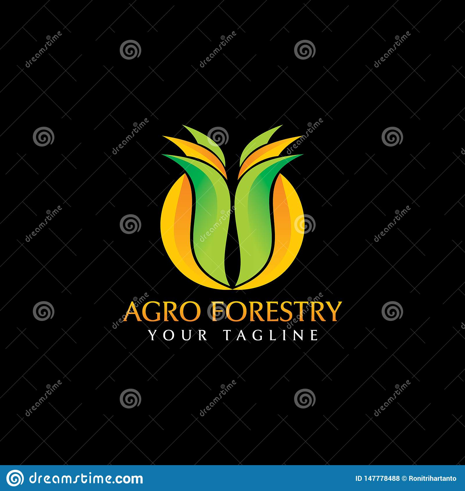 Agro skogsbrukLogo Design inspiration