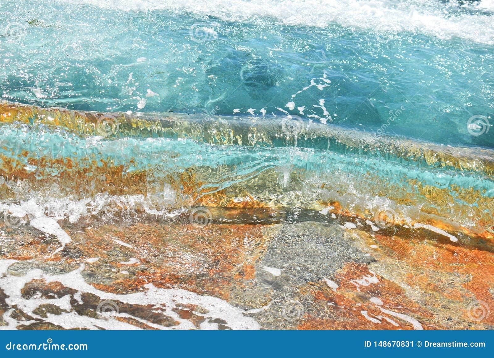 Agua cristalina