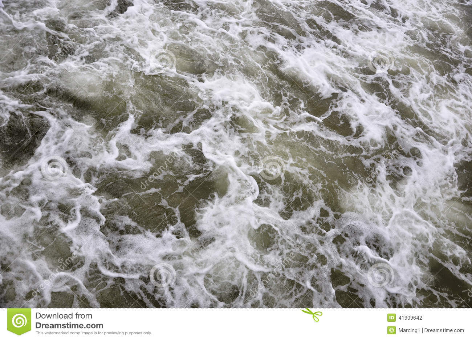 Agua de mar tempestuosa