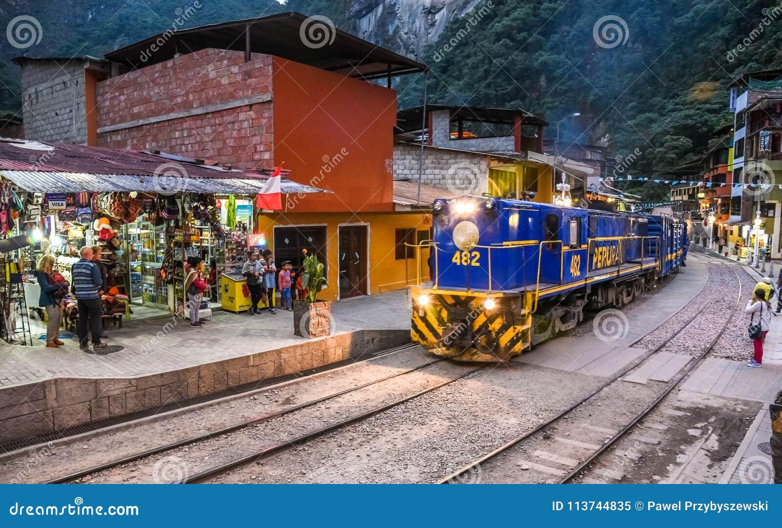 Aguas Calientes, Cusco, Mach Picchu /Peru 07/ 15 2017
