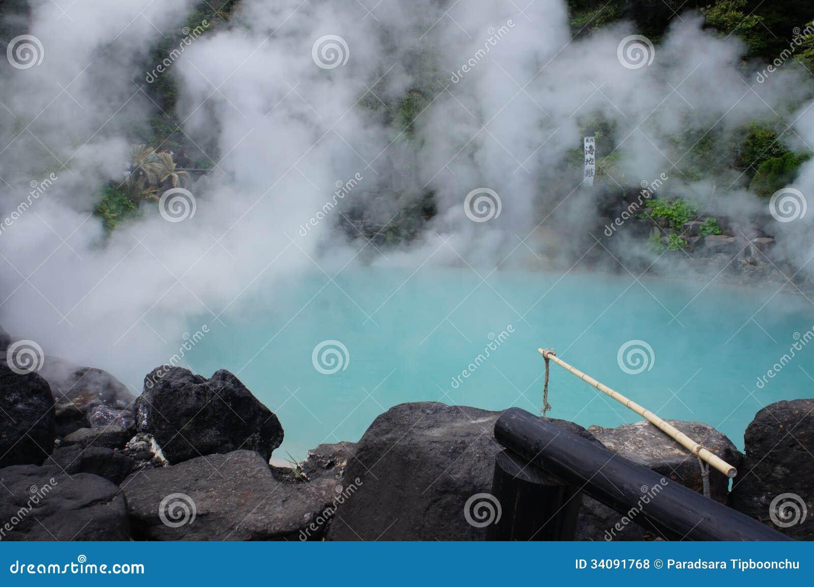 Aguas termales Beppu