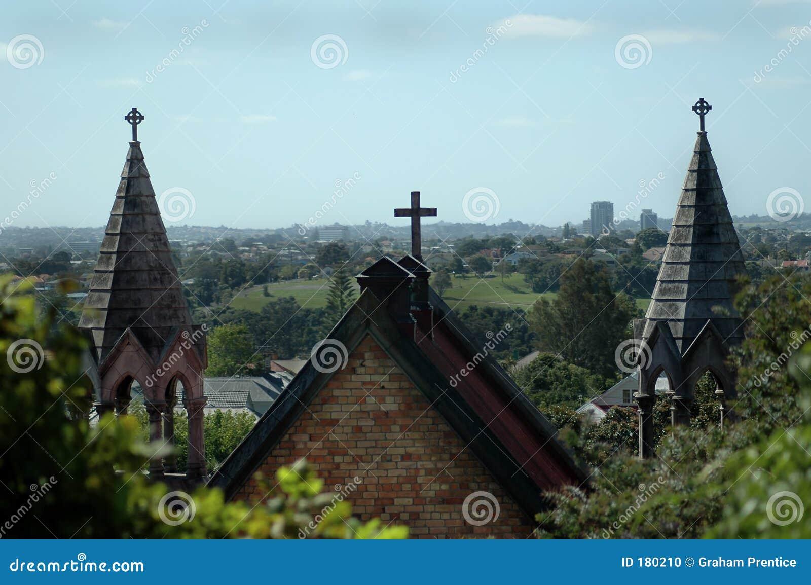 Agujas de la iglesia