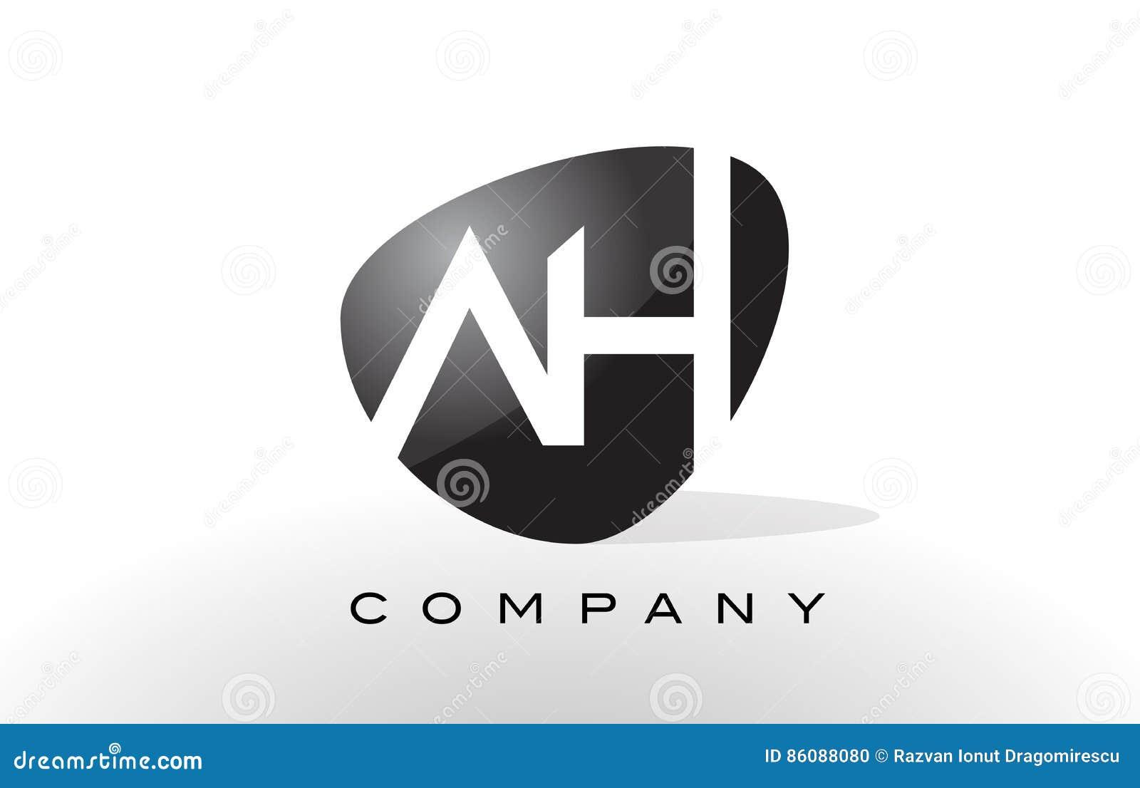 Ah Logo Letter Design Vector Stock Vector Image 86088080