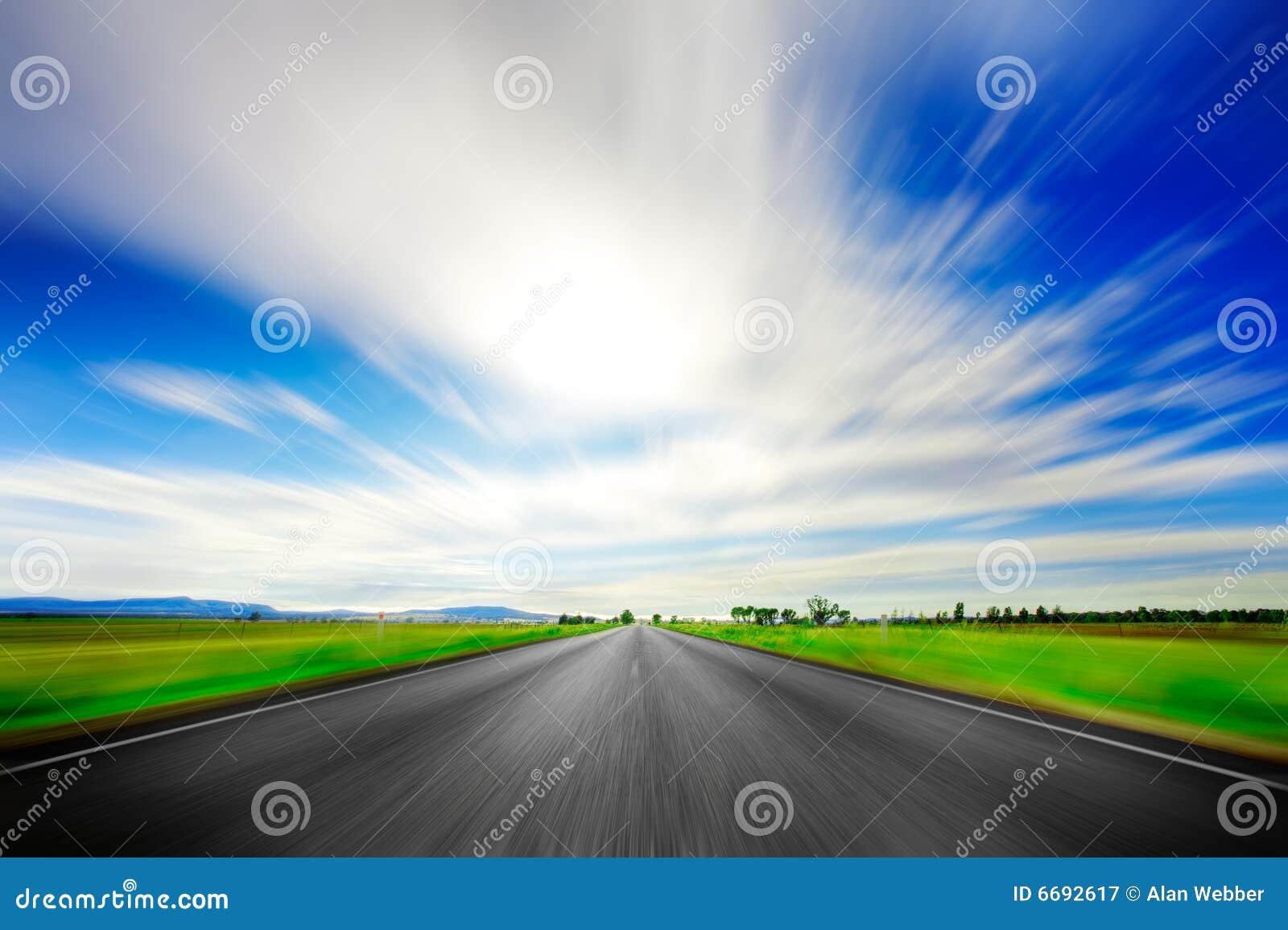 Ahead road