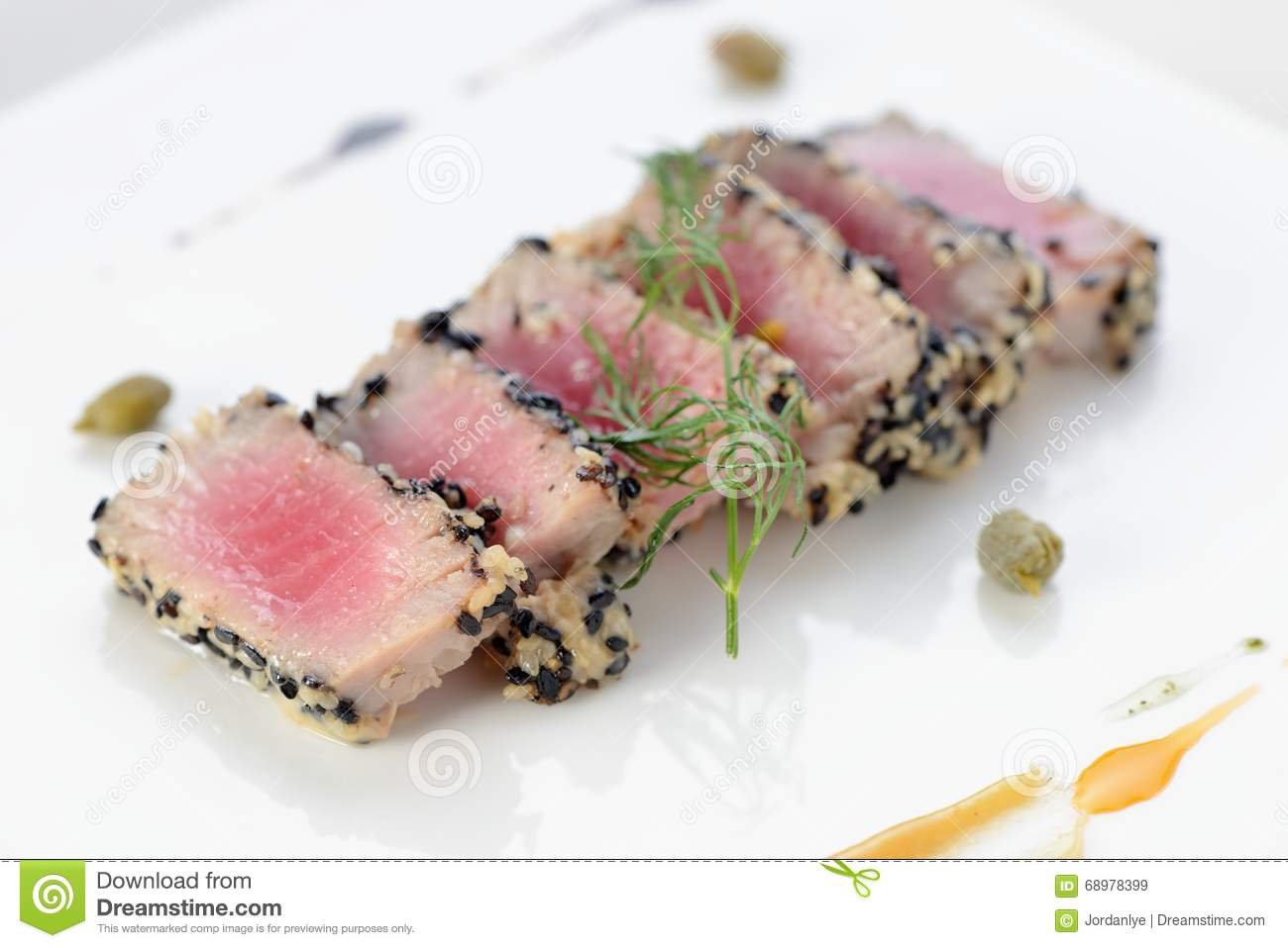 Ahi Tuna Seared