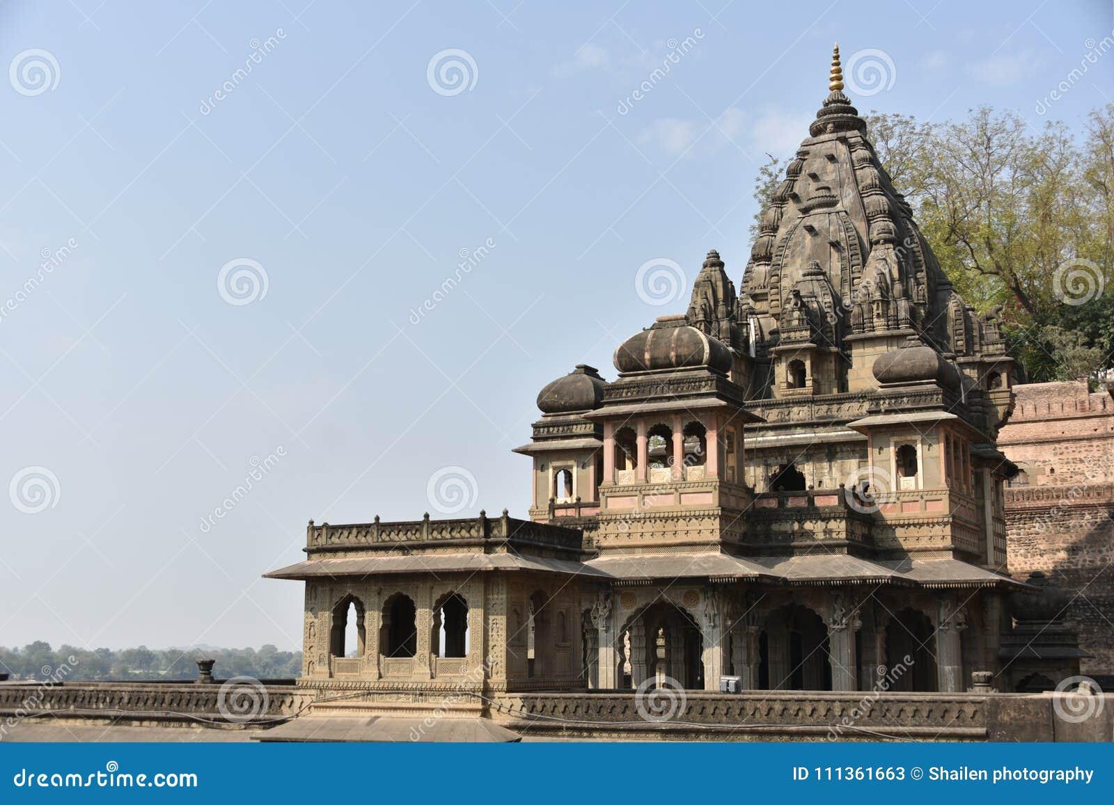 Ahilyeshwar temple, Maheshwar, Madhya Pradesh