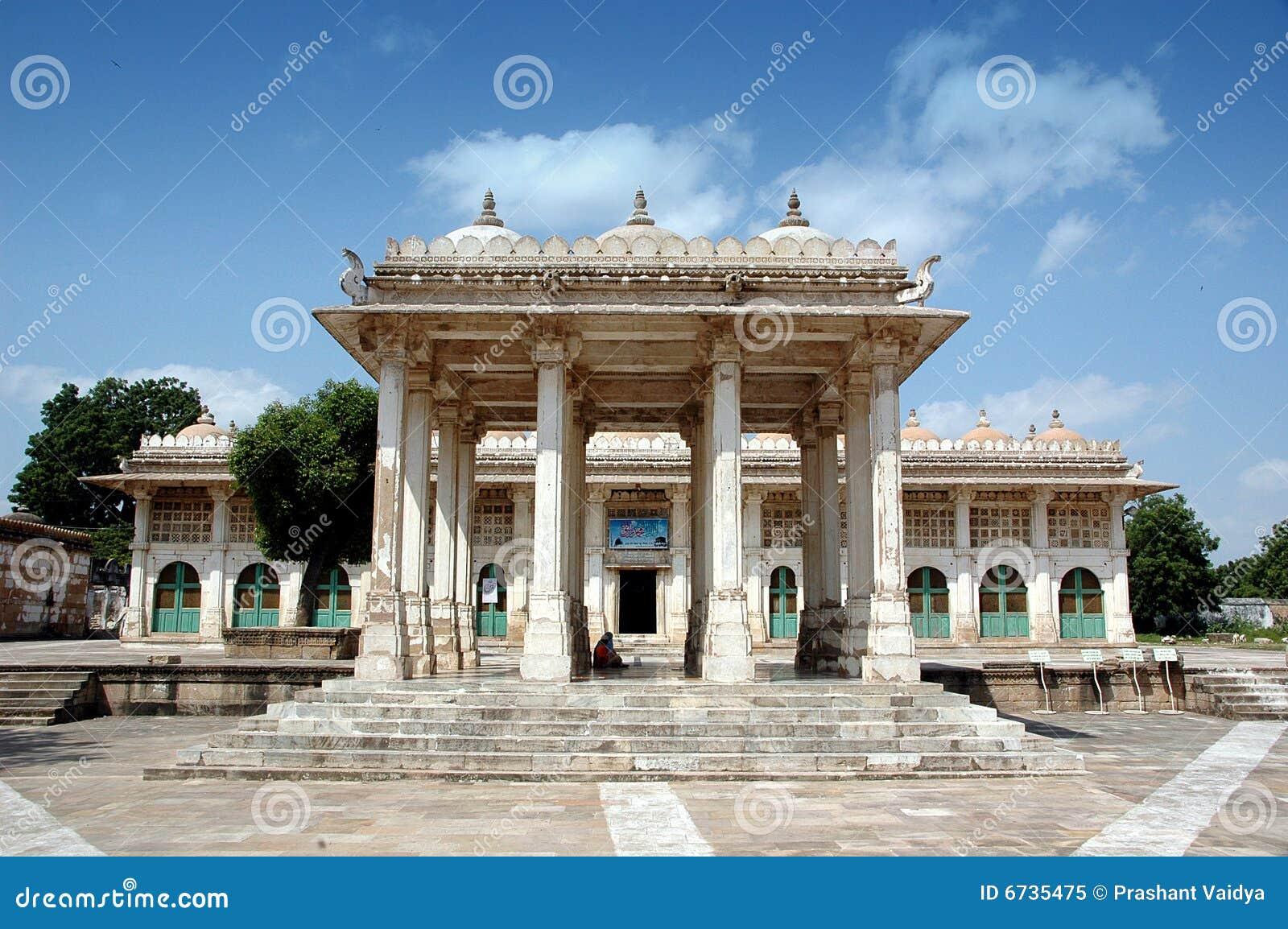 Ahmedabad folował ind roja sarkhej widok