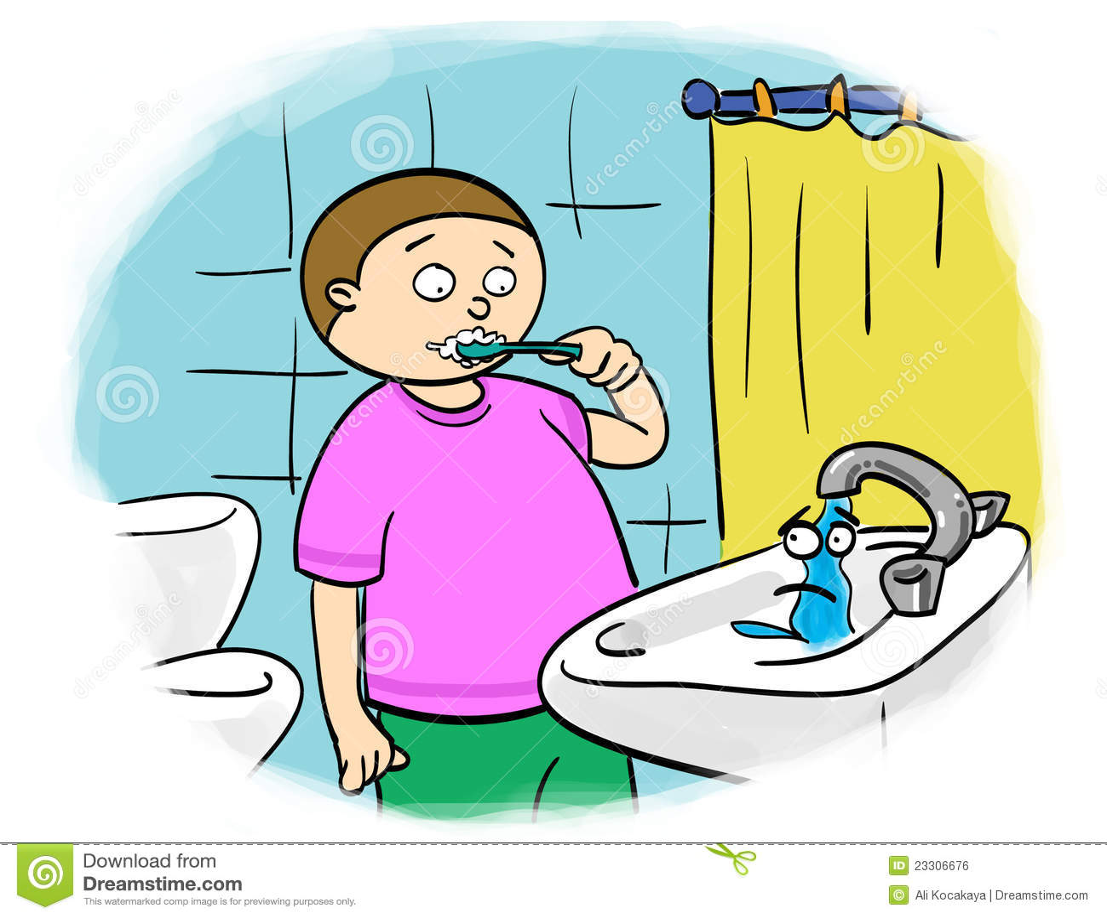 Ahorro del agua imagen de archivo libre de regal as - La llave del hogar ...