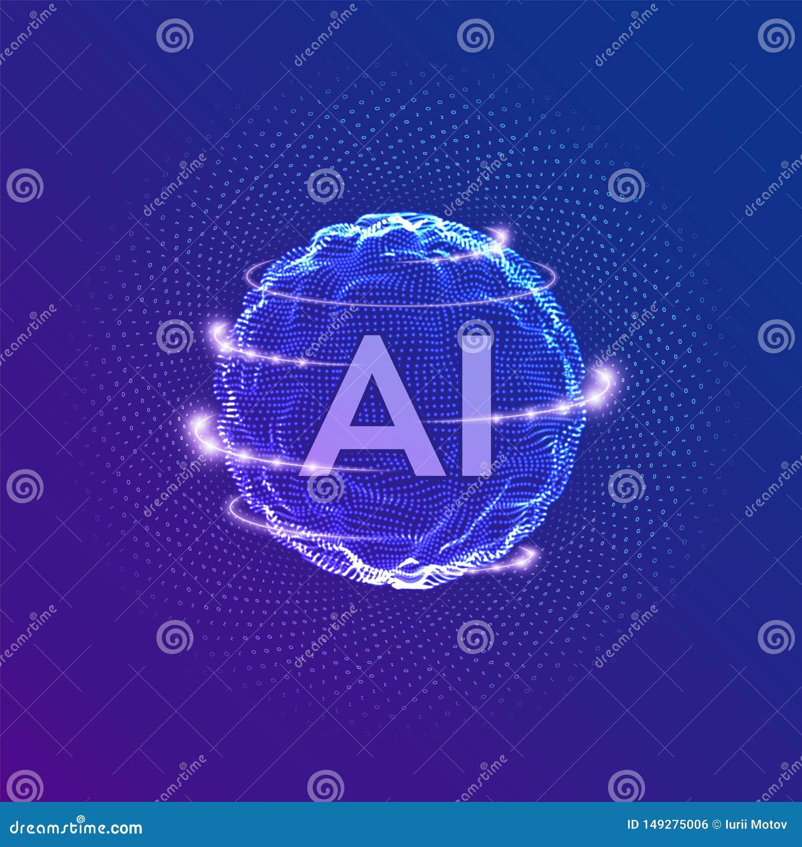 AI . Artificial Intelligence Logo . Artificial Intelligence
