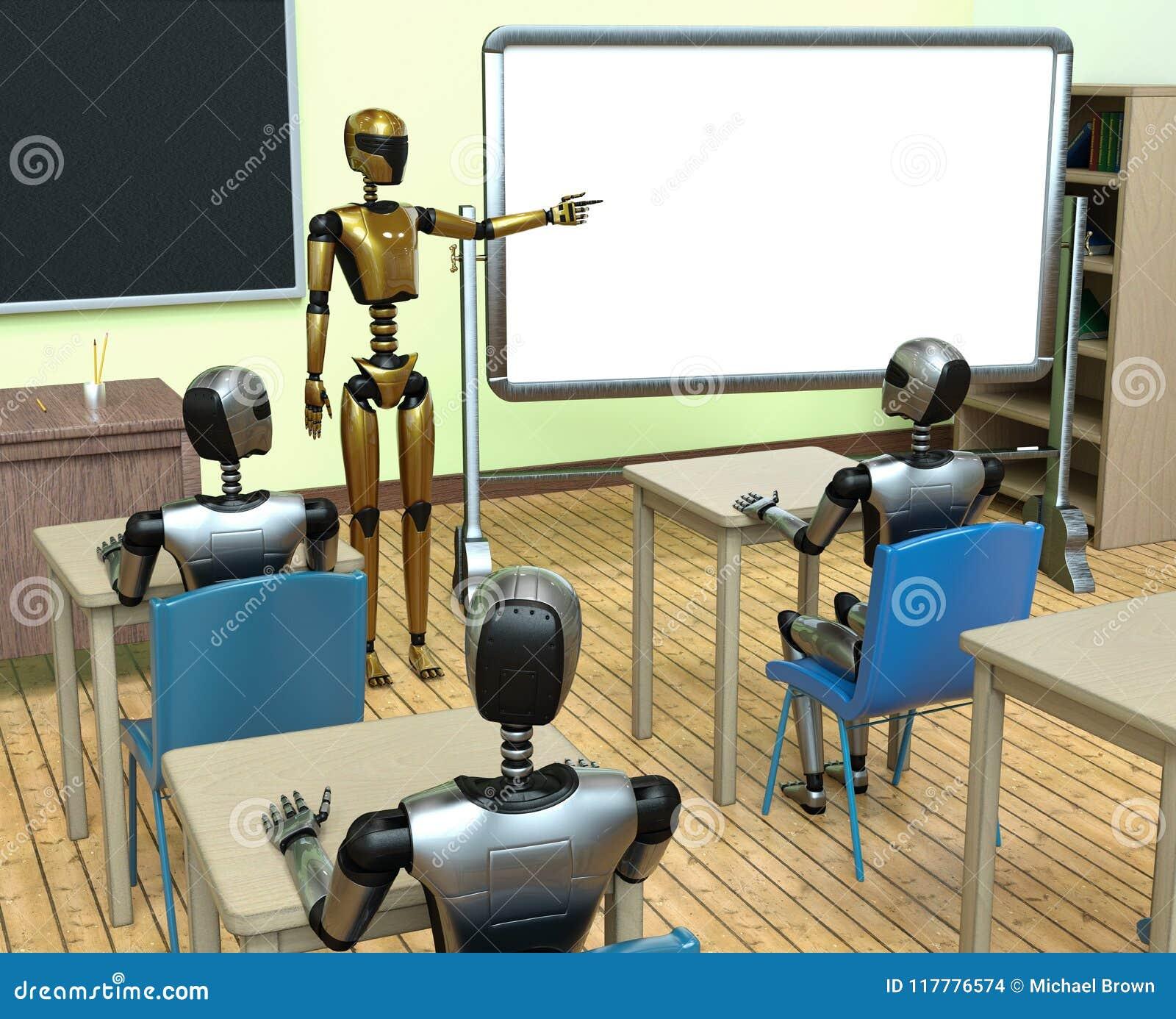 AI machine het leren de toekomst van de robottechnologie