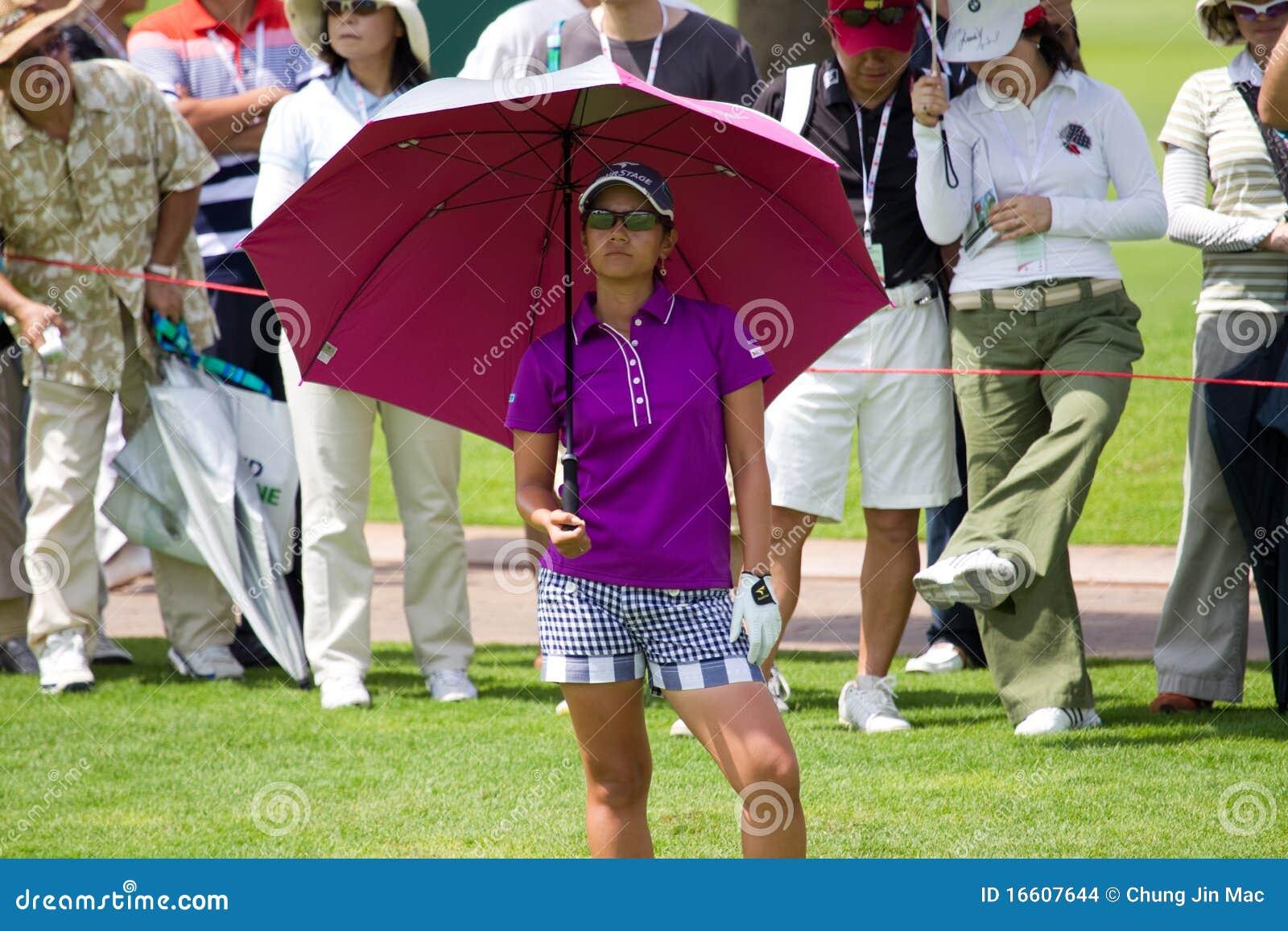 Ai Miyazato bekijkt op haar tegenstander LPGA Maleisië