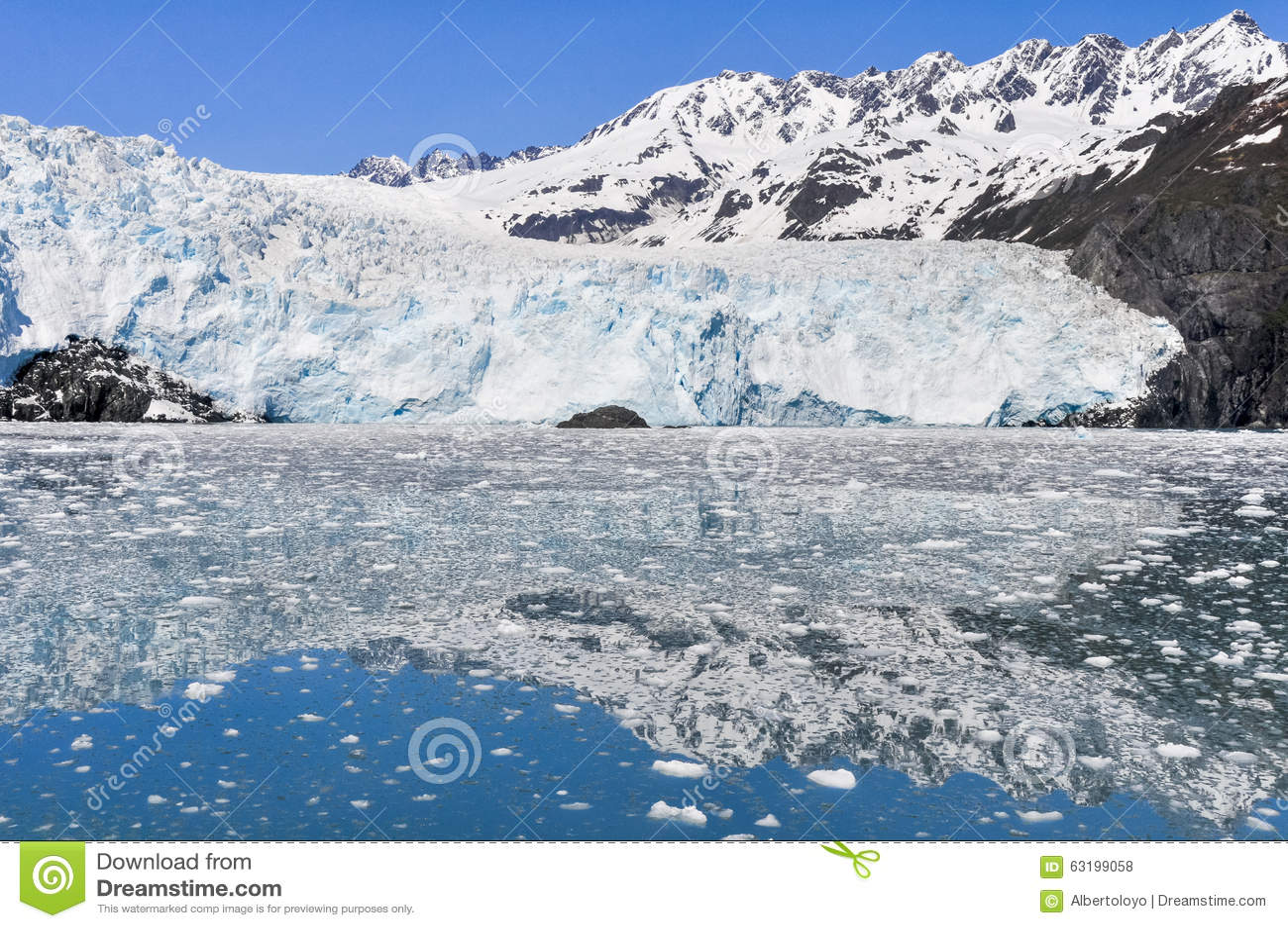 Kenai (AK) United States  city images : Aialik Glacier, Kenai Fjords National Park Alaska Stock Photo ...