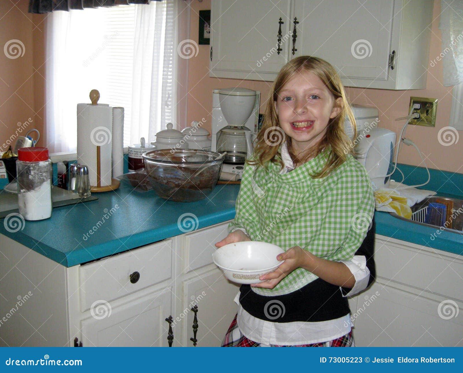 Aide dans la cuisine