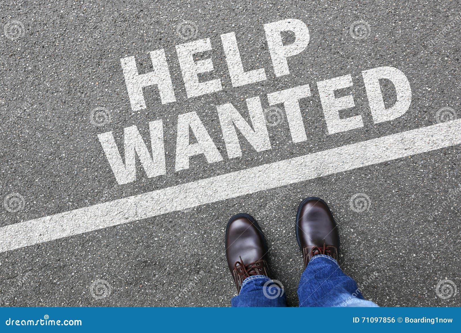 Aidez les travaux voulus, escroquerie fonctionnante d affaires des employés de recrutement du travail