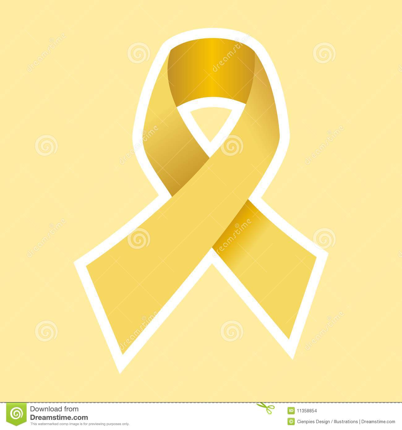 Aids hiv or cancer symbol in gold stock vector illustration of aids hiv or cancer symbol in gold buycottarizona Image collections