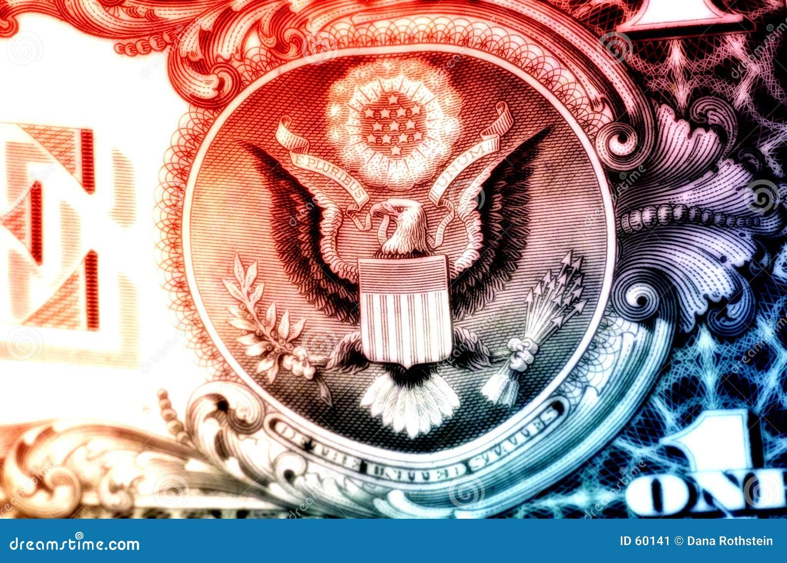 Download Aigle américain image stock. Image du financier, aigle, changement - 60141