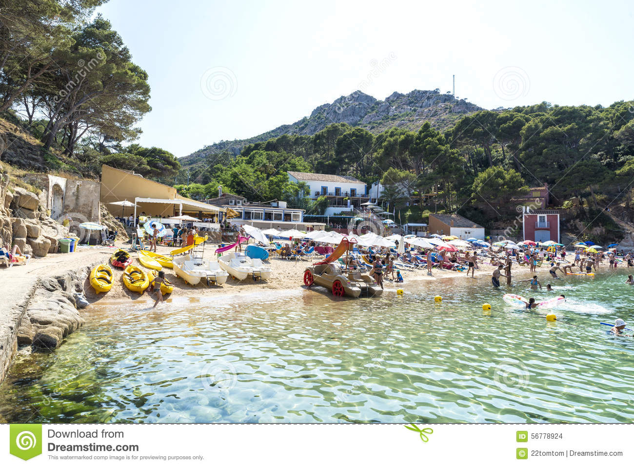Aiguablava beach in costa brava catalonia spain for Achat maison costa brava