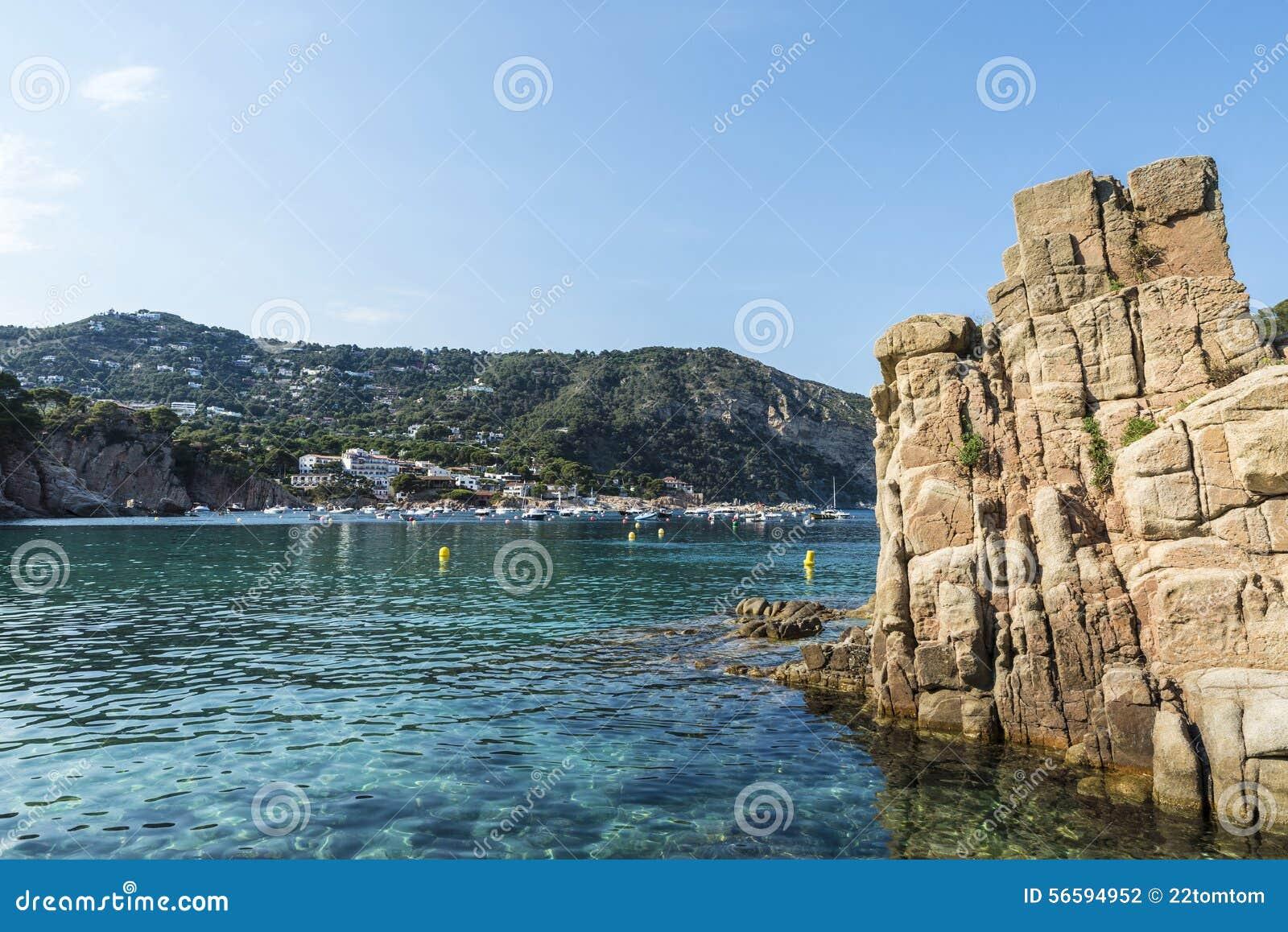 Aiguablava beach in costa brava catalonia spain stock - Aiguablava costa brava ...