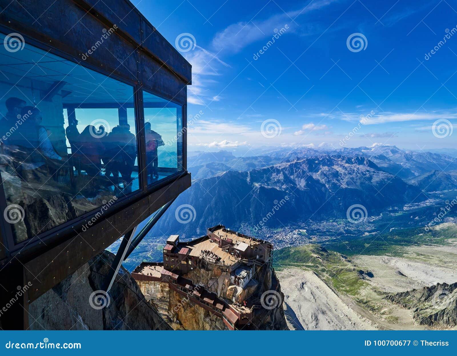 Aiguille du Midi, Chamonix, Frankrijk