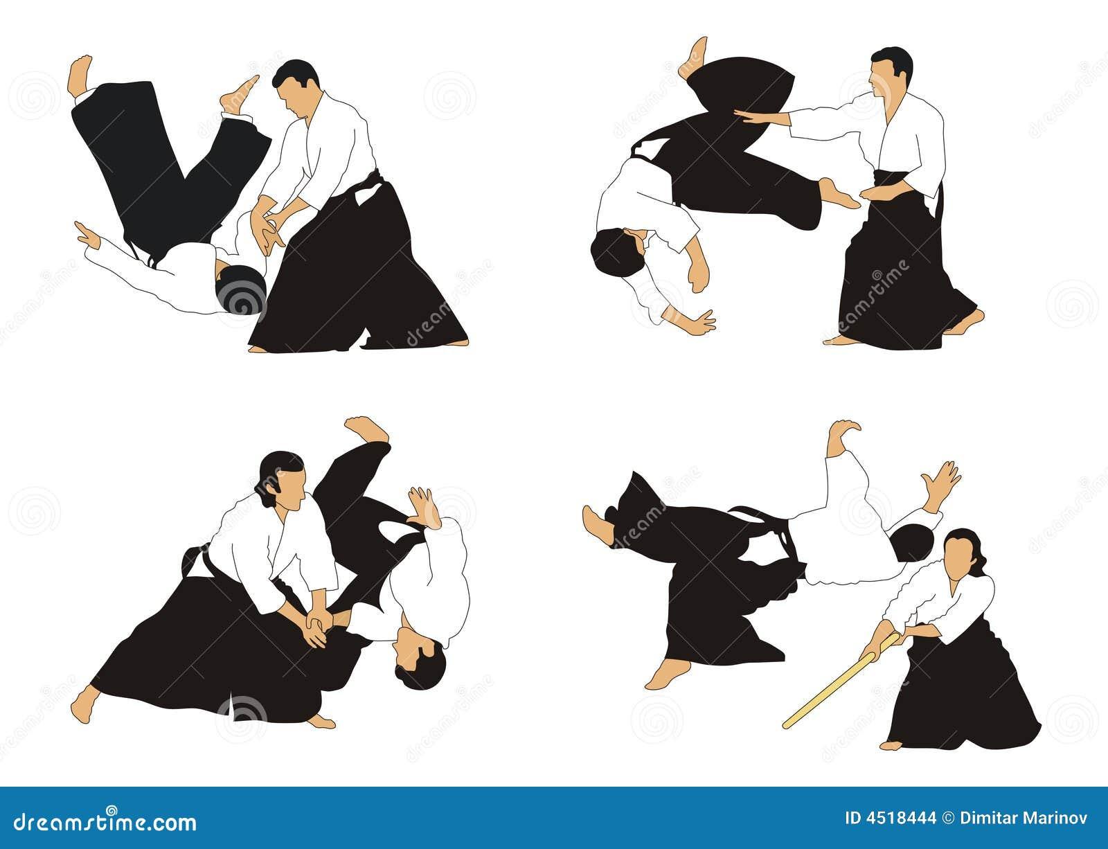 Aikido Images aikido stock illustration. illustration of skills, symbol - 4518444