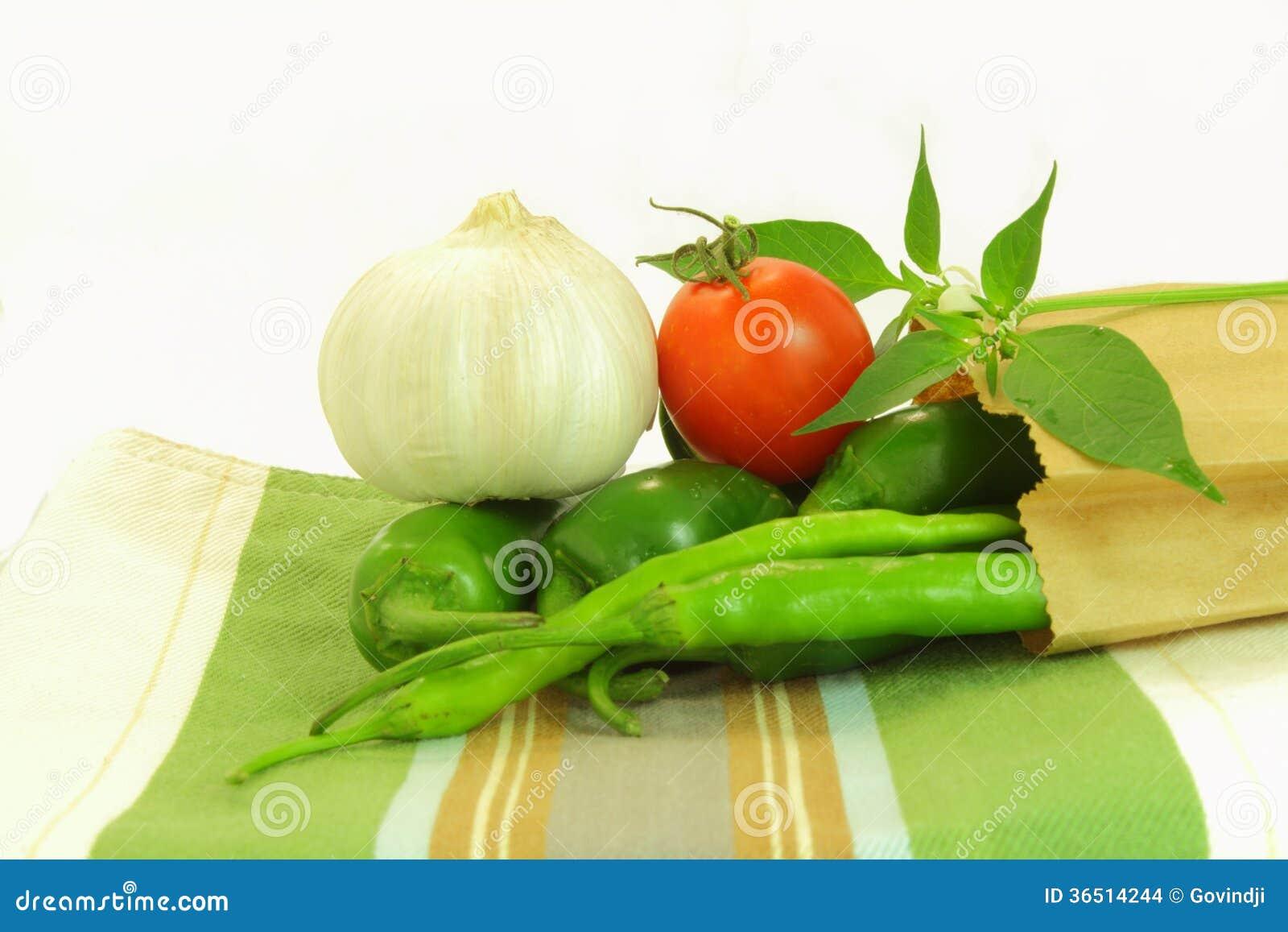 Ail de poivre de piment de tomate