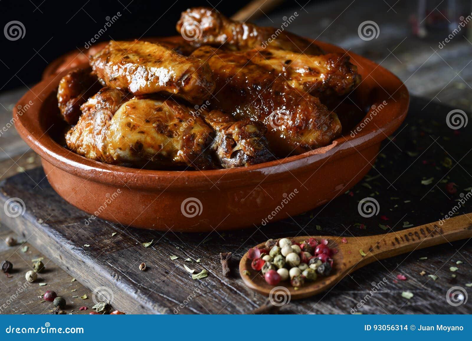 Ailes de poulet de barbecue