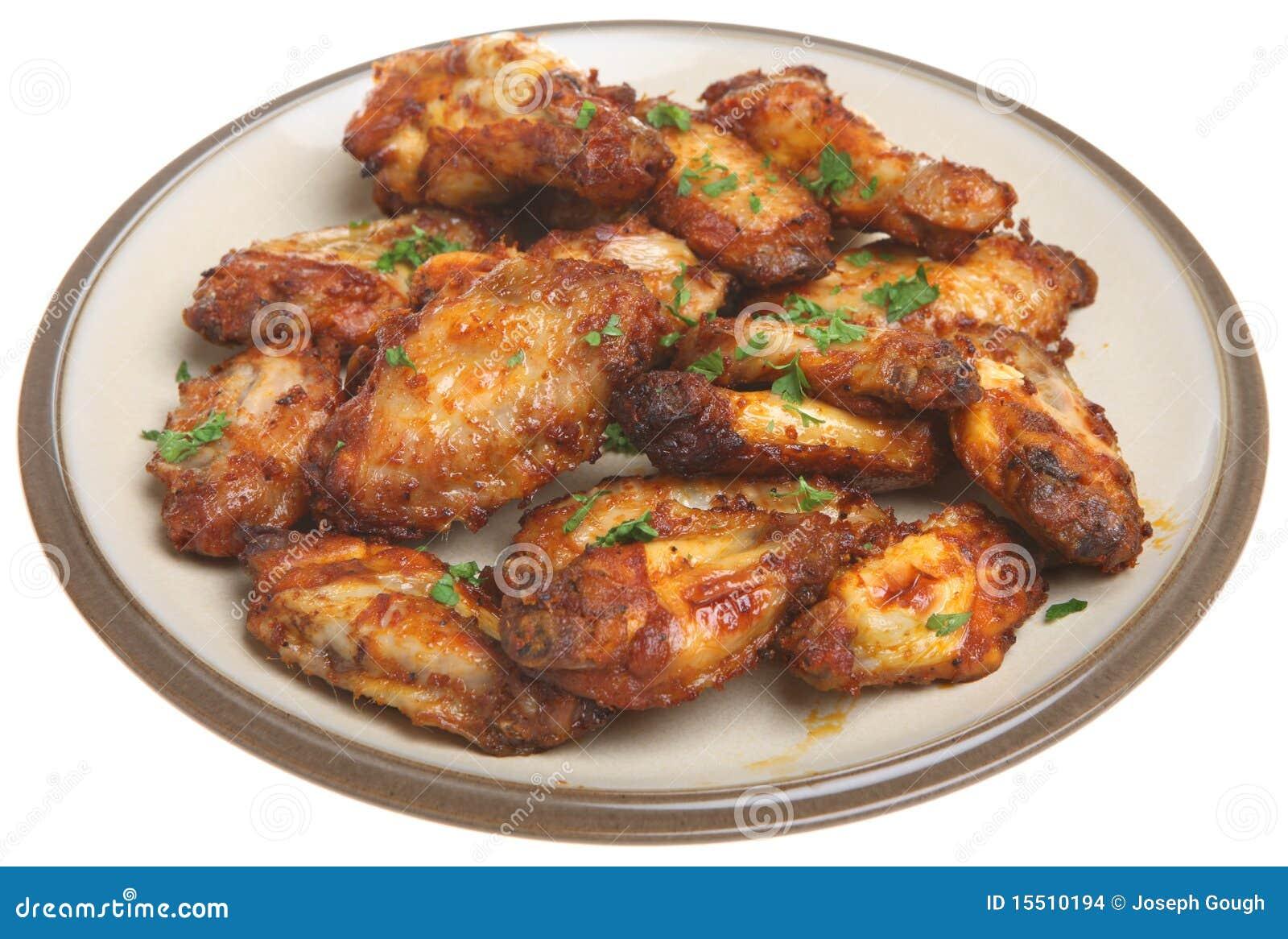 Ailes de poulet de BBQ